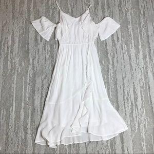 Spirit of Grace White Off Shoulder Dress Size S